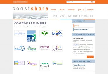 Picture of Coastshare members page