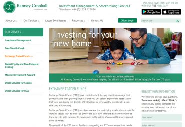 Image of Ramsey Crookall Service page