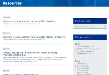 Picture of NHS Resolution resource library page