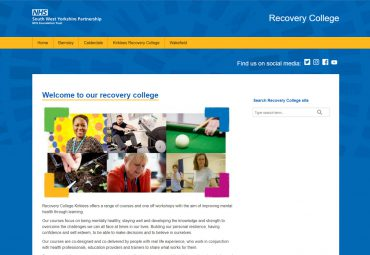Picture of NHS micro site